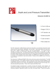 Versaline - Model VL4000 Series - Depth and Level Pressure Sensor Brochure