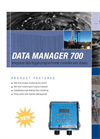Data Manager - Model 700 - Integrated Data Logger and Programable Controller Brochure
