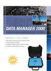 Data Manager - Model 2000 - Portable Data Logger and Programable Controller Brochure