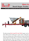 Geo-Loop - Model EZ Load 2500 - Sand Auger Trailer Package Brochure