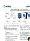 ATI - TR9290 Series - Self Calibrating - CO2 Transmitters - Brochure