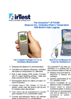ATI - Model PT9250 - Portable CO2 & Temp with Data Logger - Brochure