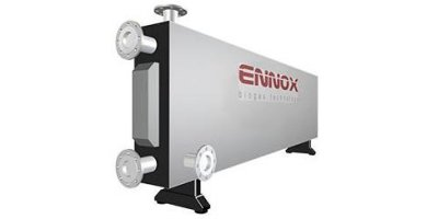ennox biogas - Model HE-sw - Sludge Heat Exchanger
