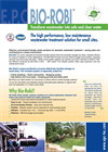 Bio-Robi - Low Maintenance Wastewater Treatment System Brochure