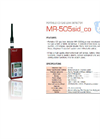 Mirico - MR-505Sid - Portable CO Gas Leak Detector Brochure