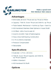 "Karlington - 10"" Water-Filled Rewindable Motors Brochure"