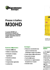 Model M30HD - Vertical Presses - Brochure