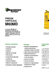 Model M60MD - Vertical Presses - Brochure