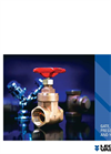 Legend - Model T-414/S-414 - Bronze Screw-Over Bonnet Gate Valves - Brochure