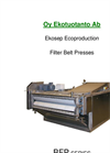 Ekosep -Type BFP-Filter Belt Presses Brochure