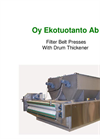 BFP-D Series - Filter Belt Presses with Drum Thickener Brochure