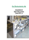 Model BFP..L - Belt Filter Press Brochure