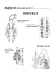 Water Swivels And Parts - Brochure