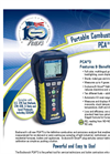 Model PCA3 - Commercial/Light Industrial Combustion Analyzer Brochure