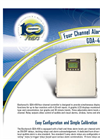 Model GDA-400 - Four Channel Alarm Controller Brochure