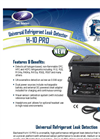 Model H-10 PRO - Ultra-Sensitive Universal Refrigerant Leak Detector Brochure