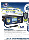 Model H25-IR PRO - Industrial Grade Gas Leak Analyzer Brochure