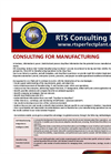 Consulting For Manufacturing Brochure