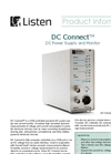 DC Connect - Power Supply and Current Monitor Brochure