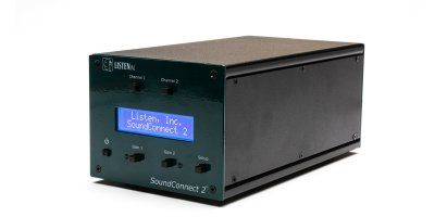 SoundConnect  - 2 Channel Microphone Power Supply and Conditioning Amplifier