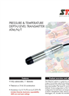 Model STS ATM/N/T series - Pressure and Temperature Depth/Level Transmitter - Datasheet