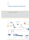 Fiber Insulation Board Lines – Flowsheet