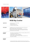 Dieffenbacher - Model MGB - Big Crusher - Datasheet