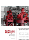 Continuous Hydrolyzor - Brochure