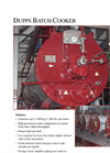 Batch Cooker Heated Shaft - Brochure