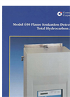 Model 650 FID - Flame Ionization Detector Brochure
