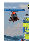 ACR Electronics - Model AquaLink™ 406 MHz - GPS Personal Locator Beacon - Datasheet