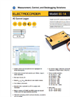 Electrocorder - Model EC-1A - AC Current Logger - Brochure
