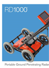 Radiodetection - Model RD1000 - Portable Ground Penetrating Radar (GPR) System - Datasheet