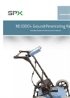 Radiodetection - Model RD1000plus - Portable Ground Penetrating Radar (GPR) System - Datasheet