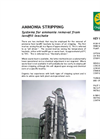 Ammonia Stripping Systems Brochure