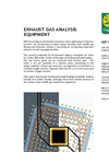 Exhaust Gas Analysis Equipment - Brochure
