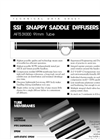Model SSI - Aeration Tube Diffusers- Brochure