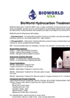 Oil Spill Cleanup using Bioremediation - Oil Spill Cleanup using Bioremediation – Specification