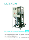 Model AK Series - Reverse Osmosis Systems Brochure