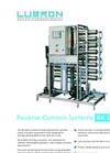 Model BK Series - Reverse Osmosis Systems Brochure