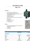 Model ME1 - CA - Electromagnetic Analogic Pump Brochure