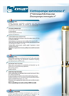 Submersible Multistage Centrifugal Pumps - Brochure