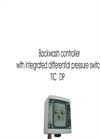 Backwash controller with integrated differential pressure switch TIC DP - Technical Features