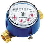 Model SW - Single Jet, Dry Dial, Direct Reading Water Meter