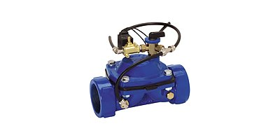 Model IM-EL-CM - Electro-Hydraulically Operated Solenoid Valve with Manual Override