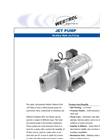 WEBTROL - - Shallow Well Jet Pump Brochure