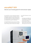 microPRO™ - Model RTP - Selective Laser Annealing System for Semiconductor Applications - Brochure