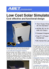 Model 10500 - Low Cost Solar Simulators Brochure