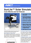 SunLite - Model 11002 - Solar Simulators Datasheet