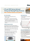 CF and CDF Series Infrared Firing and Drying/Firing Furnaces Brochure